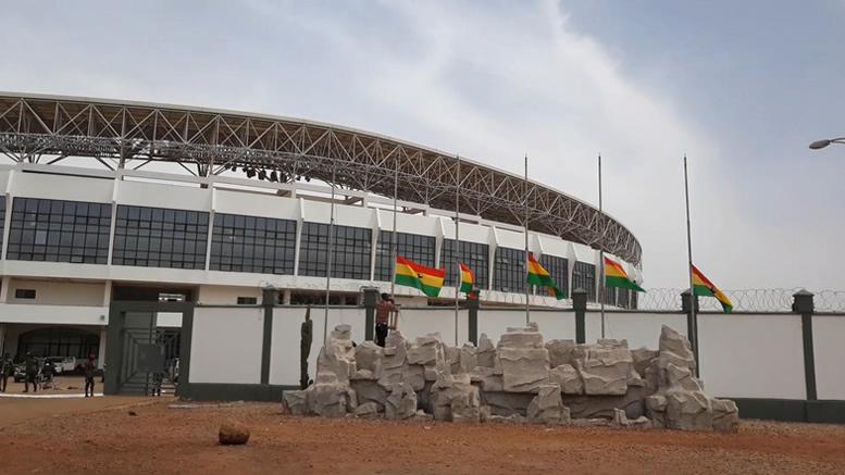 Aliu Mahama stadium in Tamale